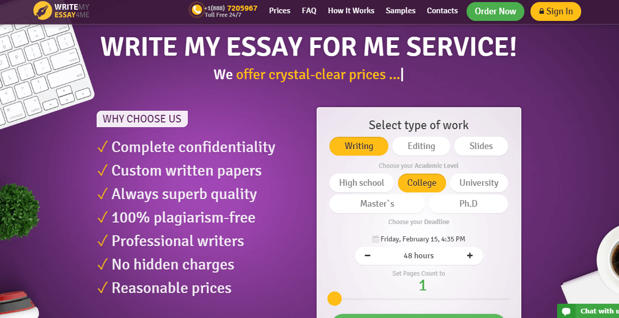 writemyessay4me review